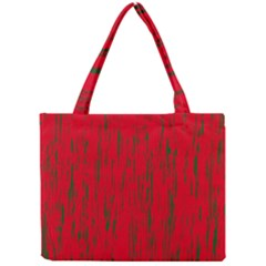 Decorative red pattern Mini Tote Bag