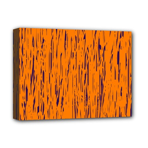 Orange pattern Deluxe Canvas 16  x 12