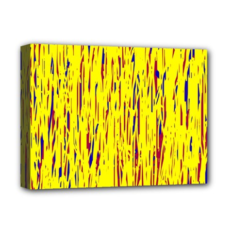 Yellow pattern Deluxe Canvas 16  x 12