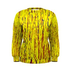Yellow pattern Women s Sweatshirt