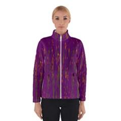 Purple pattern Winterwear