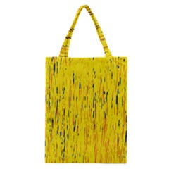 Yellow pattern Classic Tote Bag