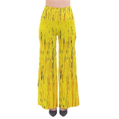 Yellow pattern Pants