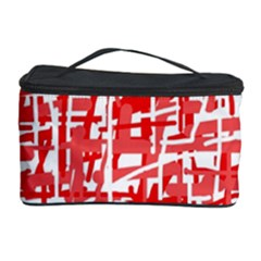Red decorative pattern Cosmetic Storage Case