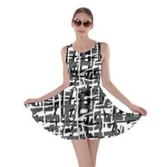 Gray pattern Skater Dress