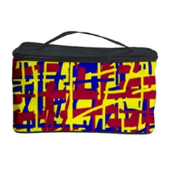 Red, yellow and blue pattern Cosmetic Storage Case
