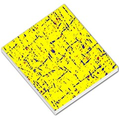 Yellow summer pattern Small Memo Pads