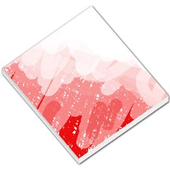 Red pattern Small Memo Pads