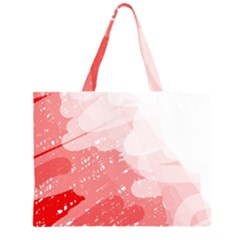 Red pattern Large Tote Bag