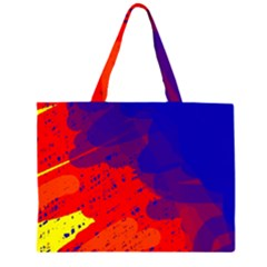 Colorful pattern Large Tote Bag