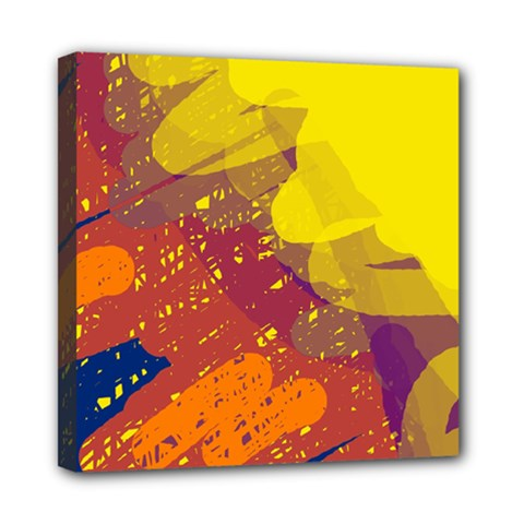 Colorful abstract pattern Mini Canvas 8  x 8