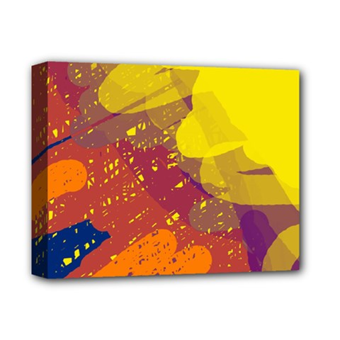 Colorful abstract pattern Deluxe Canvas 14  x 11
