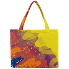 Colorful abstract pattern Mini Tote Bag