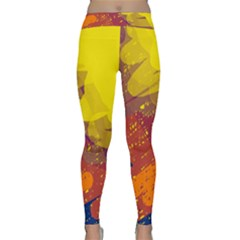 Colorful abstract pattern Yoga Leggings