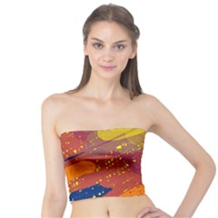Colorful abstract pattern Tube Top