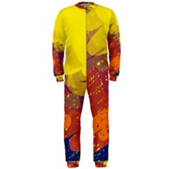 Colorful abstract pattern OnePiece Jumpsuit (Men)
