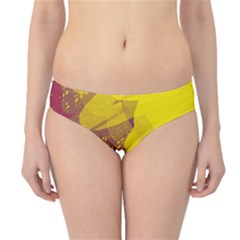 Colorful abstract pattern Hipster Bikini Bottoms