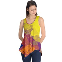 Colorful abstract pattern Sleeveless Tunic