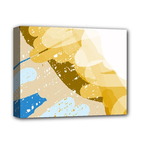 Artistic pastel pattern Deluxe Canvas 14  x 11