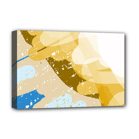 Artistic pastel pattern Deluxe Canvas 18  x 12