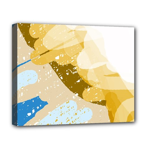 Artistic pastel pattern Deluxe Canvas 20  x 16
