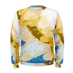 Artistic pastel pattern Men s Sweatshirt