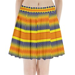 Hearts and rhombus pattern                    Pleated Mini Mesh Skirt