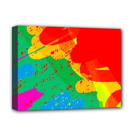 Colorful abstract design Deluxe Canvas 16  x 12