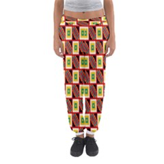 Squares And Rectangles Pattern                                                                                          Women s Jogger Sweatpants