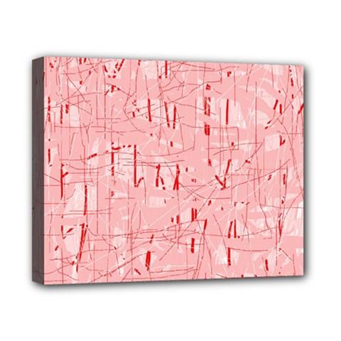 Elegant pink pattern Canvas 10  x 8