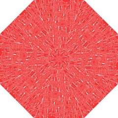 Red pattern Straight Umbrellas