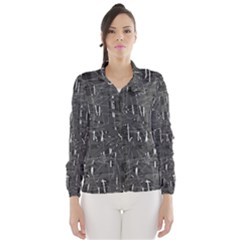 Gray pattern Wind Breaker (Women)