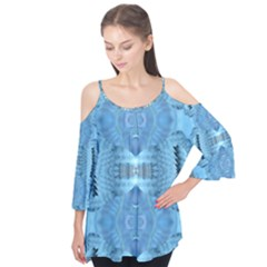 Blue Cheese Flutter Sleeve Tee