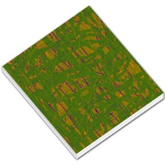Green pattern Small Memo Pads