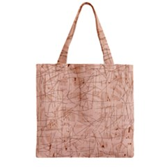 Elegant patterns Zipper Grocery Tote Bag