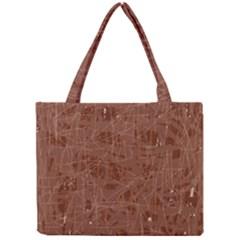 Brown pattern Mini Tote Bag