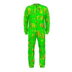 Neon green pattern OnePiece Jumpsuit (Kids)