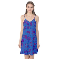 Deep blue pattern Camis Nightgown