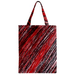 Red and black elegant pattern Classic Tote Bag