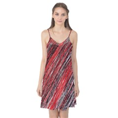 Red and black elegant pattern Camis Nightgown