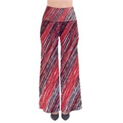 Red and black elegant pattern Pants