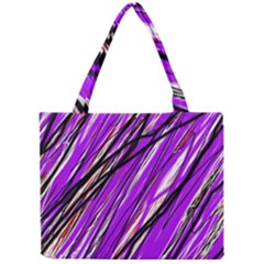 Purple pattern Mini Tote Bag