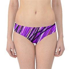 Purple pattern Hipster Bikini Bottoms