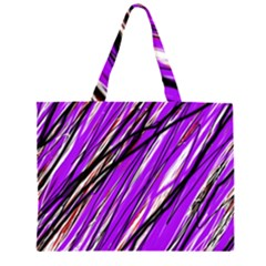 Purple pattern Large Tote Bag