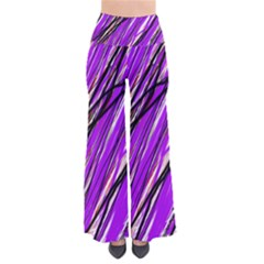 Purple Pattern Pants