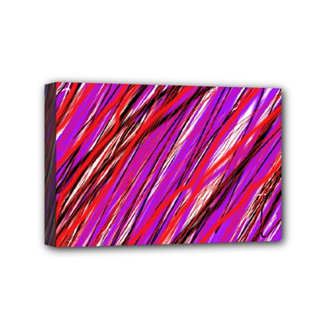 Purple pattern Mini Canvas 6  x 4