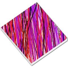 Purple pattern Small Memo Pads