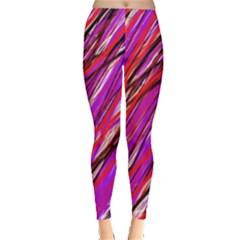 Purple pattern Leggings