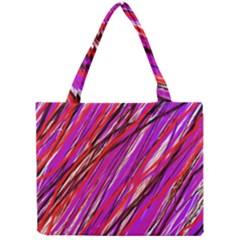 Purple pattern Mini Tote Bag