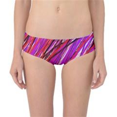 Purple pattern Classic Bikini Bottoms